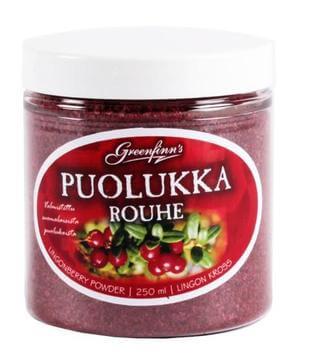 Biologische Aalbessen Rode Bosbessen Poeder- Lingonberries