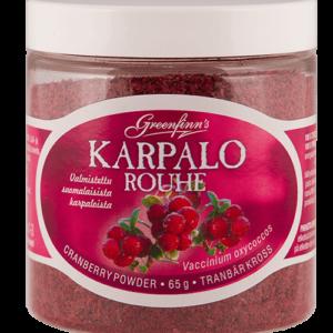 Biologische Cranberry Veenbessen Poeder