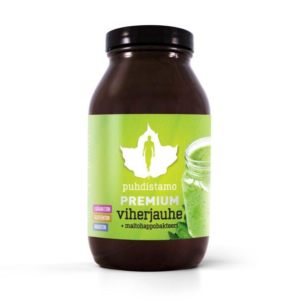 Super Green + Probiotica - Puhdistamo