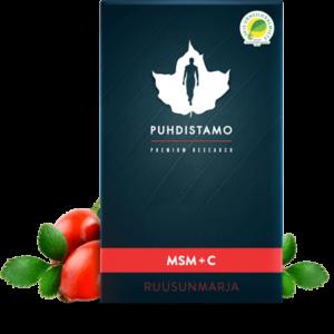 MSM , Vitamine C & Rozenbottel