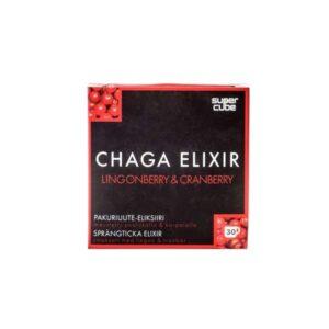 Chaga Elixir Extract Lingonberry & Cranberry