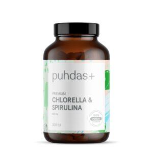 Premium Chlorella & Spirulina