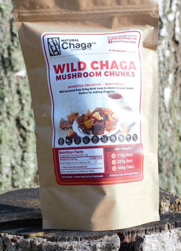 Chaga Chunks - Brokken
