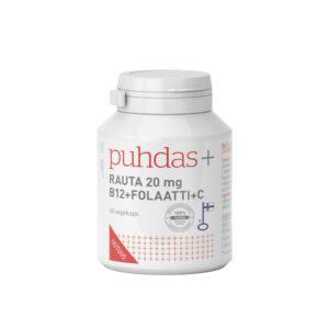 IJzer + B12 + Foliumzuur + Vitamine C (vegan capsules)